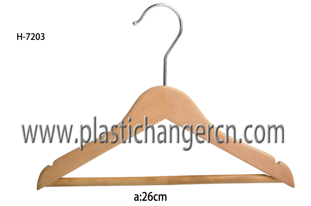 7203  wood  children hanger