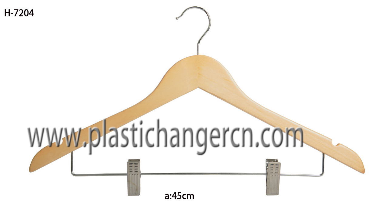 7204 wood suit hanger