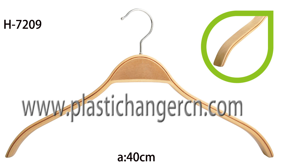 7209 laminated wood hanger