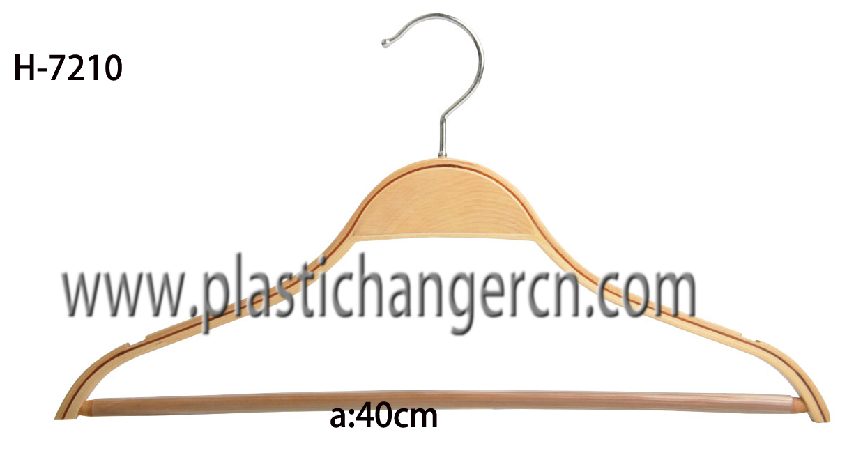 7210 laminated wood suit hanger